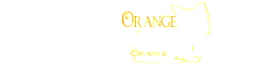 new logo with orange cat and name