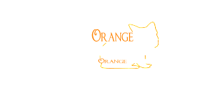 newest logo with orange cat and name